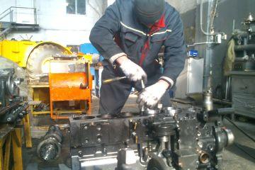 капитальный ремонт двигателя Cummins 8.3